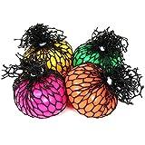 com-four 4X Anti Stress Ball para niños y Adultos, aprieta la Pelota...