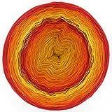 LoLa 4fach Bobbel Farbverlauf Riesen Sonnenschein Doppel, Variante:4fach - 200g 750m