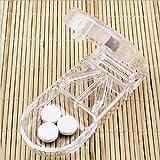 Okayji Plastic Pill Splitter, 1 Compartment,Transparent