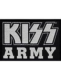 Kiss Écusson Kiss Army Patch tissé 10x 7cm