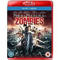 Pride & Prejudice & Zombies [Blu-ray] [2016] UK-Import, Sprache-Englisch.