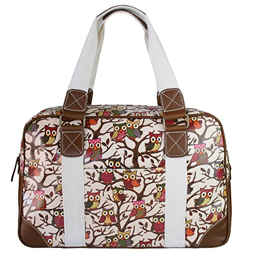 miss-lulu-ladies-owl-butterfly-floral-polka-dot-print-oilcloth-travel-overnight-weekend-school-bag-o