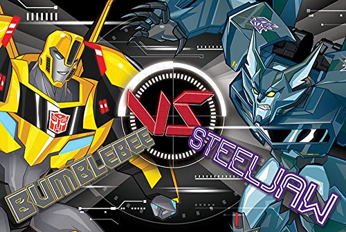 empireposter 749321 Transformers - Robots in Disguise - BB Vs Steeljaw - Poster Plakat Druck, Papier, Bunt, 91.5 x 61 x 0.14 cm