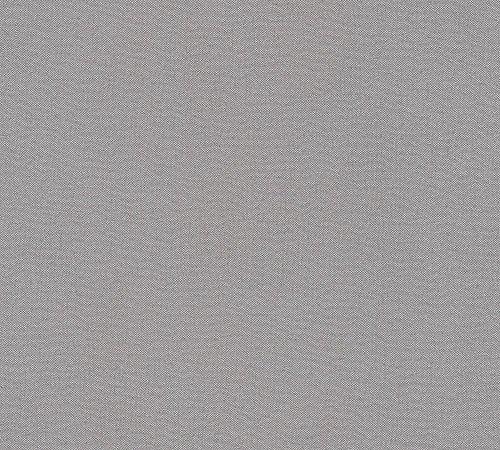 A.S. Création Vliestapete Elegance 5th Avenue Tapete Uni 10,05 m x 0,53 m grau schwarz Made in Germany 304875 30487-5