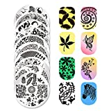 Born Pretty 10PCs Nail Art Stamping Template Flowers Spring Image Plates BP16 - 25