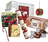 Geschenkbox Weihnachtsreise - Weihnachten aus aller Welt - Weihnachtsgeschenk für Frau & Mann - Geschenk zu Weihnachten