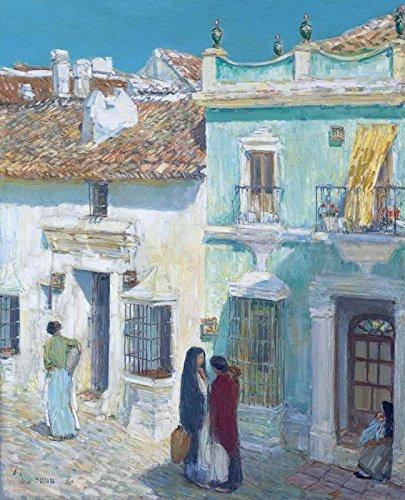 Das Museum Outlet-Plaza de la Merced, Ronda, 1910-A3Poster