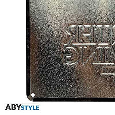 "ABYstyle Game of Thrones ""Stark"" Metal Plates (Multi-Colour)"