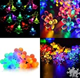 #2: Citra Set of 4 LED Waterproof String light (ball, tree, flower and snow flake shapes), 7M Fairy Lights for Diwali , Indoor, Outdoor, Yard, Garden, Path, Chrismas, Landscape, Wedding, Party, Holiday Decoration (Multi-color)