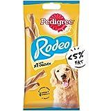 Pedigree Rodeo Adult Dog Treat, Chicken - 123 g Pack (7 Treats)