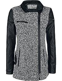 Fashion Victim Bats Jacket Manteau Femme gris/noir