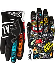 O'Neal Jump CRANK MX DH Moto Cross Handschuhe Downhill Mountain Bike Glove, 0385JC-1, Größe X-Large