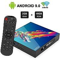 A95X R3 Android 9.0 TV BOX with RK3318 Quad-core Cortex-A53 Penta-Core Mali-450 GPU 2GB DDR 16GB EMMC 2.4GHz/5GHz Dual Band WiFi…
