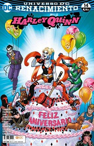 Portada del libro Harley Quinn núm. 22/ 14 (Renacimiento)