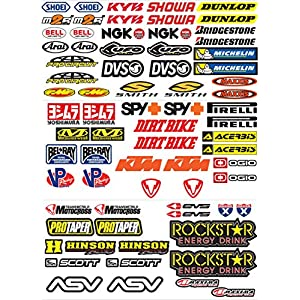 Sponsoren Aufkleber Motorrad Deine Auto Teilede