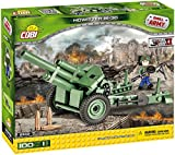 COBI - Howitzer M-30, cañón, color verde y negro (2342)