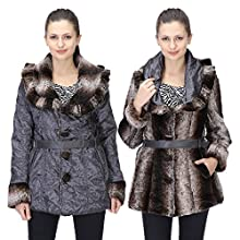 2c846b02680 LeFashionelle Full Sleeves Stylish European Winter Jacket with High Grade  Polyfill for Women s Girl s-