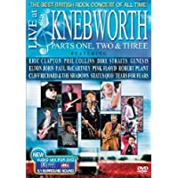 Various Artists - Live at Knebworth Parts 1,2 & 3
