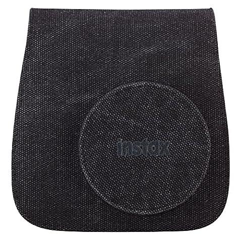 Fujifilm 70100118337 Instax Mini 8 Tasche Leinengewebe schwarz