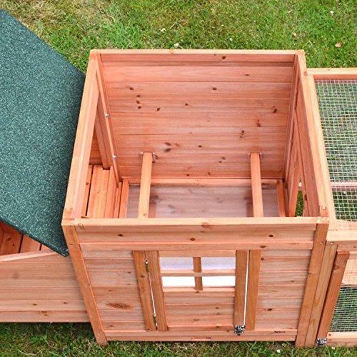 Zooprimus Hühnerstall 39 Geflügelhaus – OREO – Stall für Außenbereich (für Kleintiere: Hühner, Geflügel, Vögel, Enten usw.) - 6