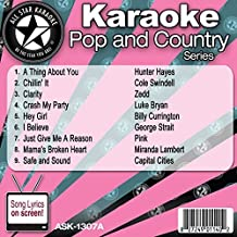 All Star Karaoke Pop and Country Series (ASK-1307A) by Hunter Hayes
