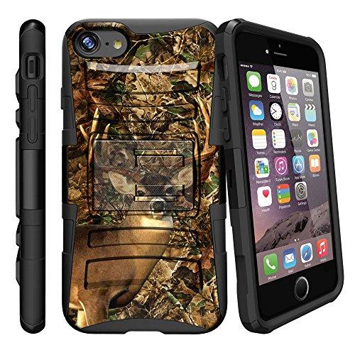 Apple iPhone 8Plus 2017Rugged, Gürtelclip Case für iPhone 8Plus 20172017[Clip Armor für iPhone 8Plus 2017] Hard Shell iPhone 8+ Case Cover w Ständer, Deer Hunting Camo