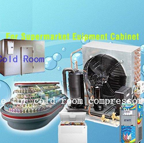 Preisvergleich Produktbild Gowe kommerziellen Cube Ice, die sich Maschine für kalte Zimmer Kompressor für Fleisch Fruits Meeresfrüchte Frischhalten