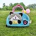 Kitty Loves poissons) brodé Kids Mini sac à main/Pochette/trousse de voyage (7.1 x 4,3 x 2)