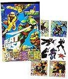 Unbekannt 121 tlg. Set Sticker / Aufkleber -  Teenage Mutant Ninja Turtles  - mit SILB..