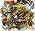 Trout flies, lures, 25 Trout Fly Fishing Flies, BARBLESS NYMPH BUZZERS, Hooks Mixed sized. from ARC Fishing Flies