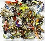Verkauf Off–zufällige Auswahl von 25Fliegenfischen Fliegen Barbless Nymphe Signalempfänger Haken ohne Widerhaken, verschiedene Größen