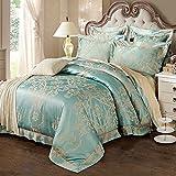 WaaiSo Simple Algodón puro Suave Cómodo ropa de cama sabanas de cama para niños, estudiantes y el dormitorio set de 4, 1.5m?suitable 5 inches bed?,&f3524