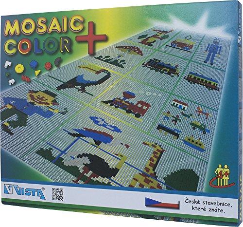 Vista vista0401-Kit de 10Color del Mosaico Plus (1474-piece)
