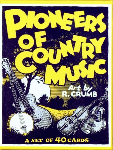 Pioneers of Country Music Boxed Trading Card Set by R. Crumb by Robert Crumb (2005-08-01)
