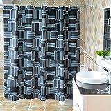 Peva shower curtain wasserdicht alle schatten warm wand vorhang abdeckung -G