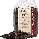Tellicherry Pfeffer 100 Gramm ganz, lang gereifte Pfefferkörner, ohne Zusatzstoffe & ohne Geschmacksverstärker - Bremer…
