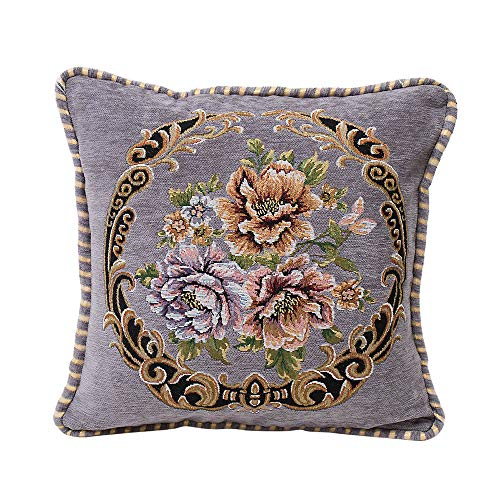 ABsoar Chenille Kissenbezug Square Pillow Cover Cushion Case Toss Pillowcase Hidden Zipper Closur Sofa Decor Hauptbettzimmer Pillow Covers -