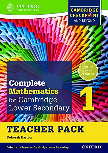 Complete Mathematics for Cambridge Lower Secondary Teacher Pack 1: For Cambridge Checkpoint and Beyond (International Maths Book &Vd)
