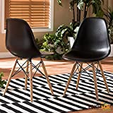 Best Mid Century - Eames Replica Dining Chair/Cafeteria Chair/Cafe Chair/Armless Side Chairs Review