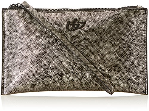 byblos Damen My Way Clutch, 1x15.5x25.5 cm Beige (Bronzo)
