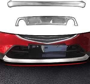 Xinshuo Custom Fit Vorne Hinten Ladekantenschutz Unterfahrschutz Für Cx 3 Cx3 2015 2019 Rostfreier Stahl 2 Stück Set Auto