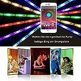 Luces-Led-Controlada-Por-La-APP-Del-TelFono-Inteligente-De-Bluetooth-Es-Adecuada-Para-El-Sistema-De-Android-Y-El-De-IOS-El-Conjunto-De-Equipo-RGB-5-Metros-Tira-LEDLa-12V3A-Fuente-De-Alimentacin