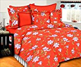 SurprizeMe Cotton Floral Double Bedsheet...