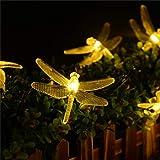 ledmomo luci solari della sequenza luci fate della libellula lampada a sospensione LED impermeabile decorazioni per…