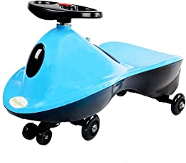 GoodLuck Baybee Orion Magic Car with Music Free Wheel Car Suitable Childrens - (2 to 8 Yrs)(Blue)