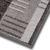 1A Teppich-Läufer auf Maß gekettelt | Murano (80x250, grau)