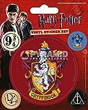 Pyramid International Harry Potter (Gryffindor) Vinyl Aufkleber, Papier, mehrfarbig, 10x 12,5x 1,3cm