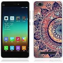 Xiaomi mi4c / mi4i Funda - Fubaoda - Alta Calidad Serie de la pintura, [Tribu] Gel de Silicona TPU, Fina, Flexible, Resistente a los arañazos en su parte trasera, Amortigua los golpes, funda protectora anti-golpes para Xiaomi mi4c / mi4i