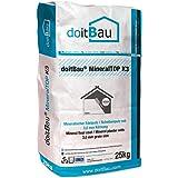 doitBau MineralTOP 3mm WDVS Scheibenputz Struktur Fassade Edelputz Oberputz weiß