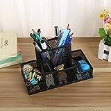 #5: Trexee Multifuction Stationery Desk Organizer Metal Mesh Desktop Office Pen Pencil Holder Study Storage